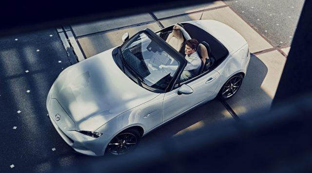 Mazda portfolio head