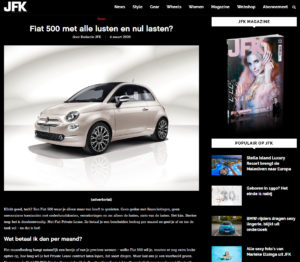 VDS Digital Agency - Fiat for JFK