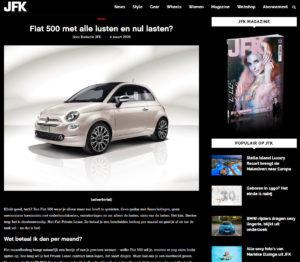 VDS Digital Agency - Fiat for JFK